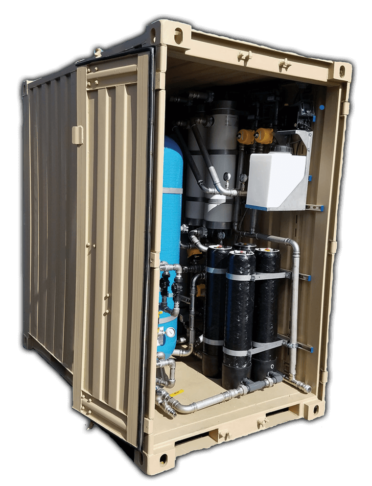 MWPS-4000 Mobile Water Purification System
